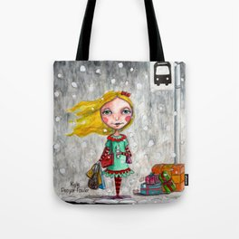 Coffee Gratitude by Kylie Fowler Tote Bag