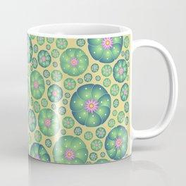 Peyote cactus plant pattern illustration Coffee Mug