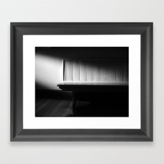 The Waiting Room - VACANCY zine Framed Art Print