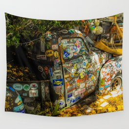 Old Pickup Truck, Key West Wall Tapestry