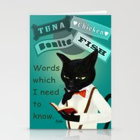 study Stationery Cards featuring Study by BATKEI