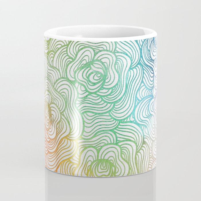 Abstract Roses 2 Coffee Mug