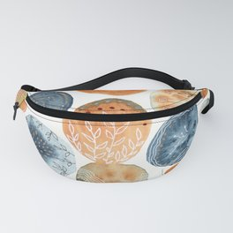 Watercolor improvisation 13 Fanny Pack