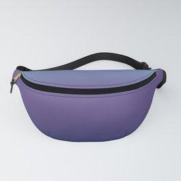 Ombre Blue Ultra Violet Gradient Pattern Fanny Pack