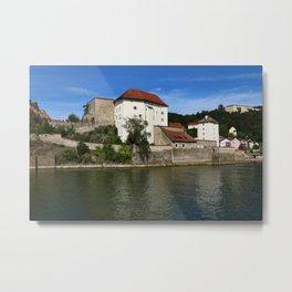 Passau Veste Niederhaus Metal Print