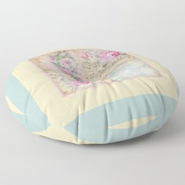 Shabby Chic 2 Floor Pillow