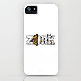 Zork Retro Video Game iPhone Case