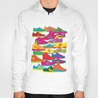sneakers Hoodies featuring Sneakers by Glen Gould