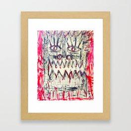 Esprit du Primitif Framed Art Print