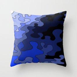 Venture In Darkness Throw Pillow