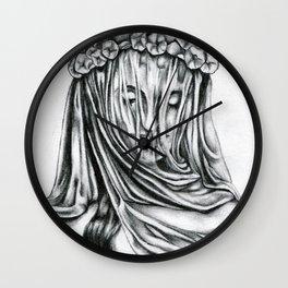 Miss Interpretation Wall Clock