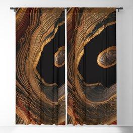 Tiger's Eye Canyon Blackout Curtain