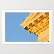 Golden Temple Art Print