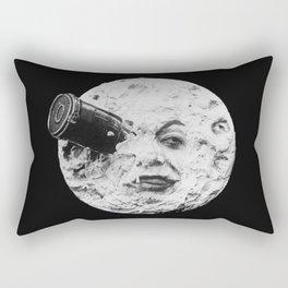A Trip to the Moon 1902 - Artwork for Wall Art, Prints, Posters, Tshirts, Men Women Kids Rectangular Pillow