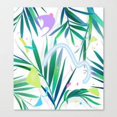 summer motel pattern Canvas Print