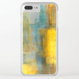 Puzzled Clear iPhone Case