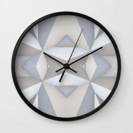 Origami - White Wall Clock