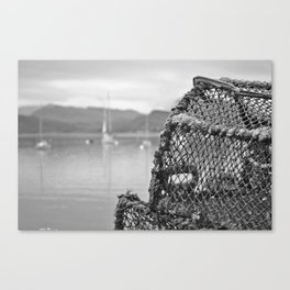 Crab Cages Canvas Print