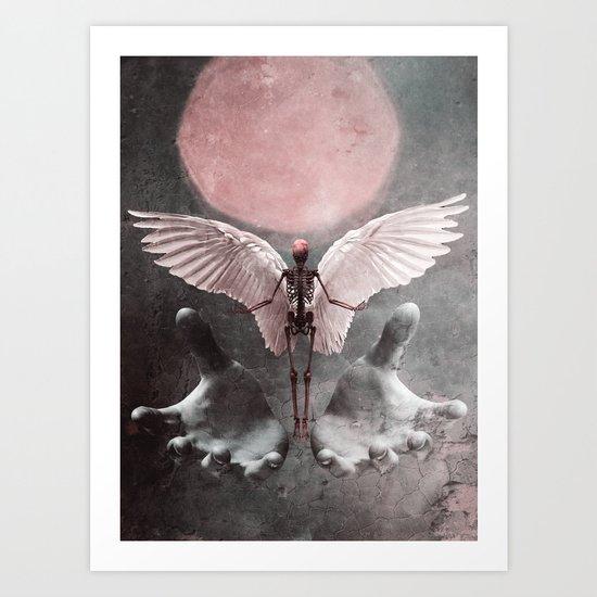 Fallen Angel 2 Art Print