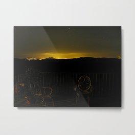 El Cielo sobre Granada Metal Print