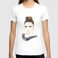 cara T-shirts featuring Cara by Esther Kang