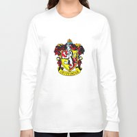 gryffindor Long Sleeve T-shirts featuring Gryffindor - Hogwarts  by Kesen