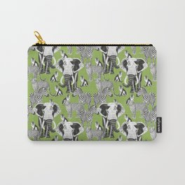 Safari - green Carry-All Pouch