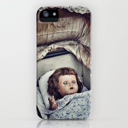 Haunted she is iPhone Case
