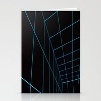 tron Stationery Cards featuring Tron Lines by Kookyphotography