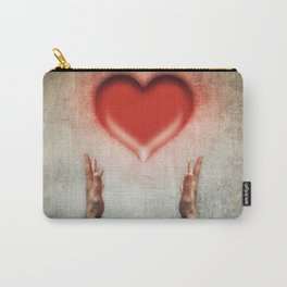 heart holding Carry-All Pouch