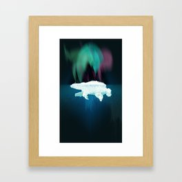 Polar Ice Framed Art Print