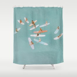 float xv Shower Curtain