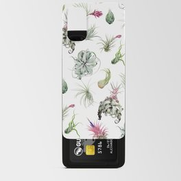 Tillandsia white Android Card Case