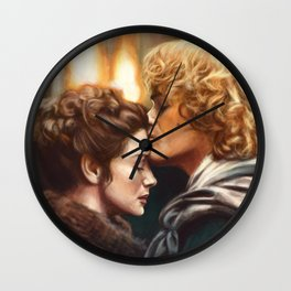Jamie & Claire Wall Clock