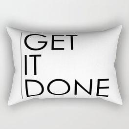 Get It Done Rectangular Pillow
