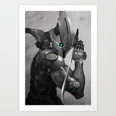 Cymurai 11 Art Print