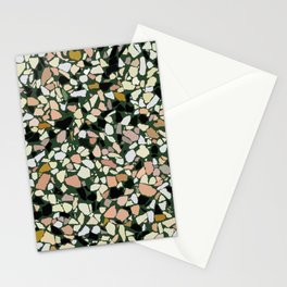 Pink and Green Terrazzo Stationery Cards