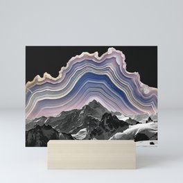 Agate Mountains Mini Art Print