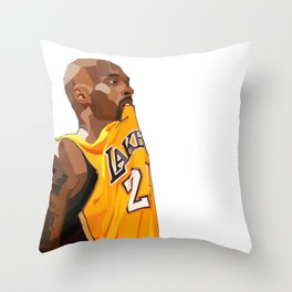 Black Mamba Throw Pillow