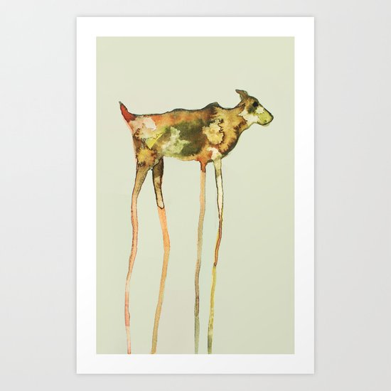 sighthound Art Print