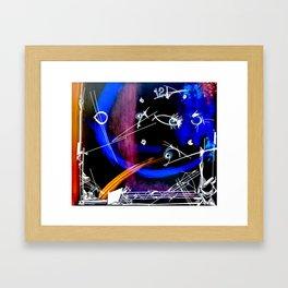 Nighttime by Ella Son Framed Art Print