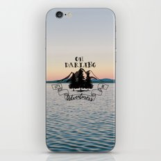 Lets Be Adventurers iPhone & iPod Skin