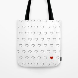 Hearts - Classic Red Tote Bag