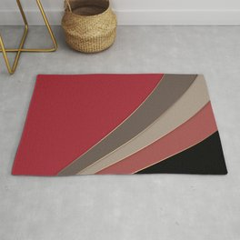 22 Abstract geometric pattern Rug