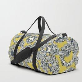 cirque fleur gold Duffle Bag