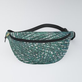 Palms White Fanny Pack