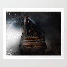 Piandemonium - Piano à Guillotine Art Print