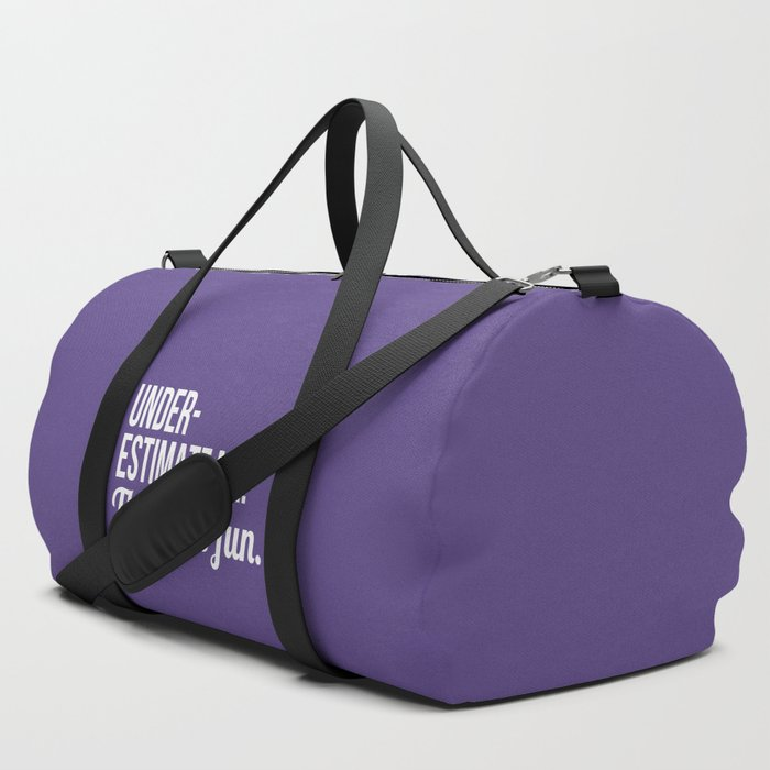 Underestimate_Me_Thatll_Be_Fun_Ultra_Violet_Duffle_Bag_by_CreativeAngel__SET_OF_3