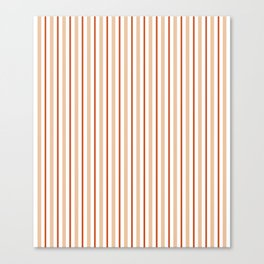 abstract orange and red lines Canvas Print