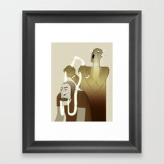 Take Me to Your Leader Framed Art Print
